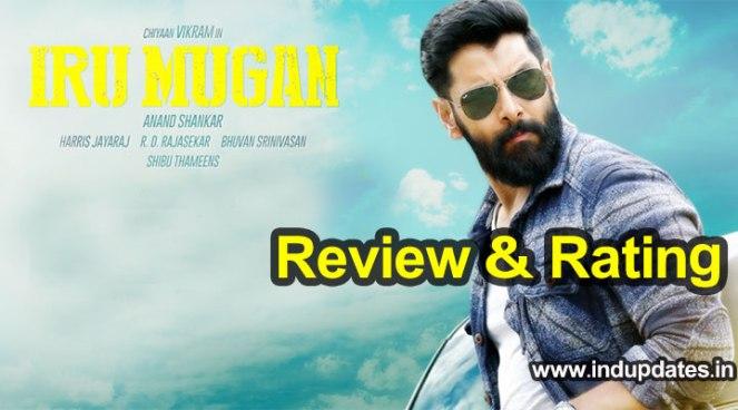 Iru Mugan Movie Review Rating, Premier Show Live Updates