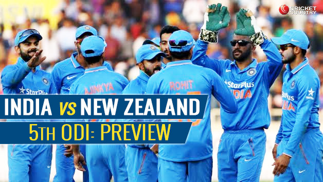 India Vs New Zealand 5th ODI Live Cricket Streaming, Score Board, Highlights