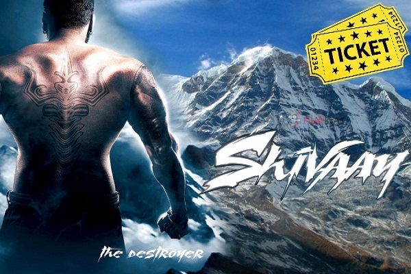 Shivaay Movie Tickets Advance Booking Online Started