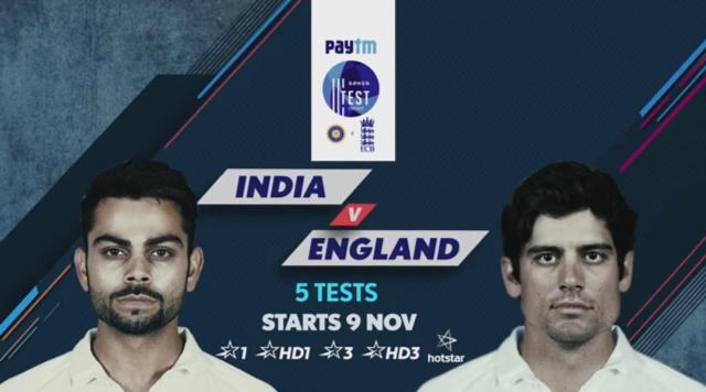 India Vs England 2nd Test Live Streaming, Score Board, Highlights, Videos - From Vishakapatnam