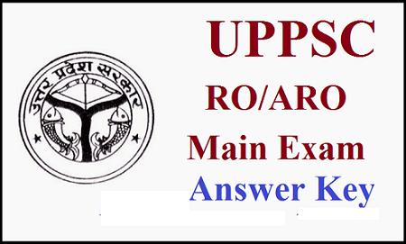 UPPSC RO ARO Answer Key 2016