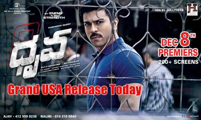 Dhruva Movie Review Rating, Story, Public Talk, Live Updates