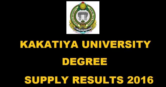 KU Degree Supply Results 2016