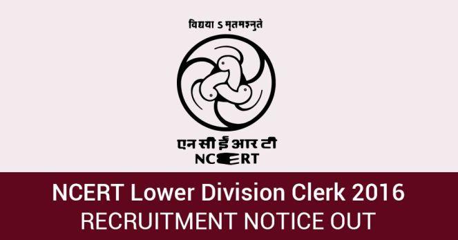 NCERT Lower Division Clerk Admit Card 2016