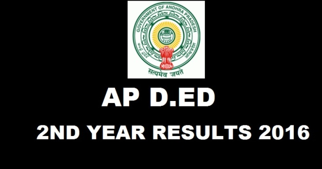 AP DEd 2nd Year Results 2016