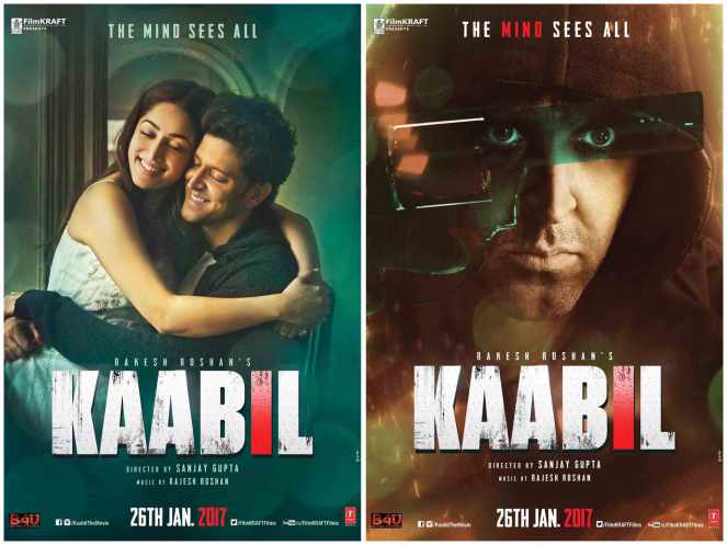 Kaabil 1st Day Collection, 1 Day Box Office Collection