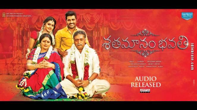 Shatamanam Bhavati Movie Review Rating