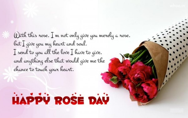 Happy Rose Day Images, Quotes, Wishes, Whatsapp Status