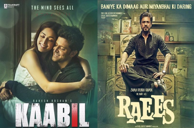 Raees / Kaabil 17th Day Collection, 17 Days Collections