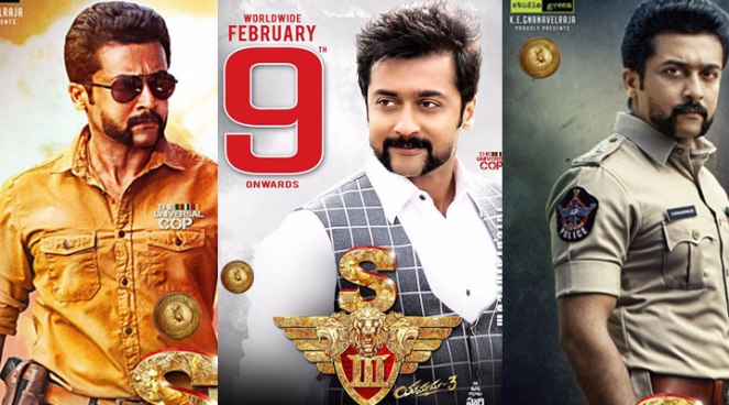 Singam 3 Movie Review Rating