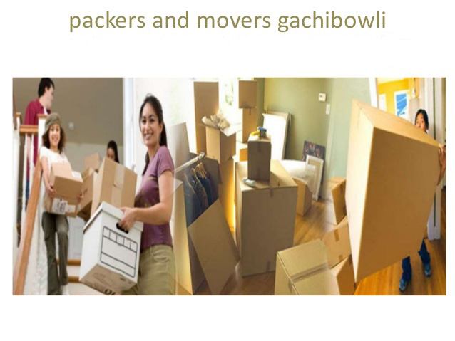 Packers And Movers Gachibowli